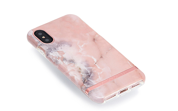 richmond finch pink marble iphone x case rose gold. Black Bedroom Furniture Sets. Home Design Ideas
