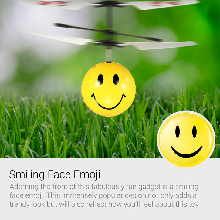 Flying Emoji Mini Copter