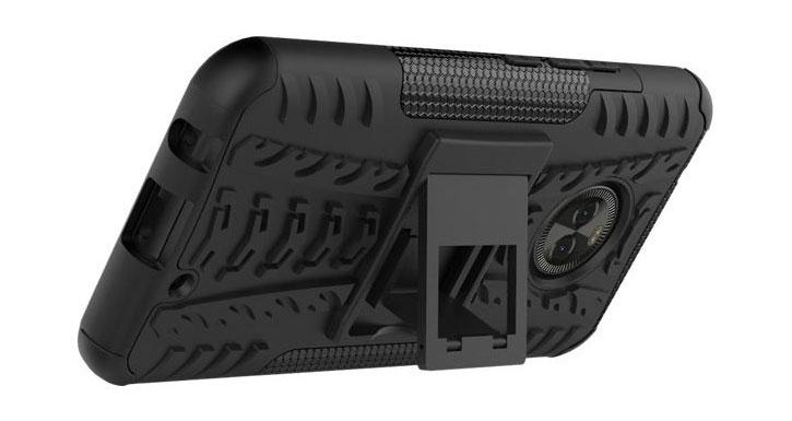Olixar ArmourDillo Motorola Moto X4 in Schwarz
