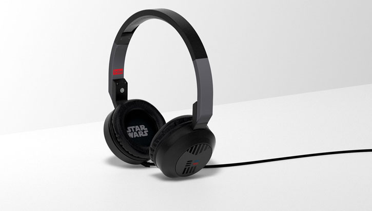 Star Wars Darth Vader On-Ear Headphones w/ Mic and Remote - Black