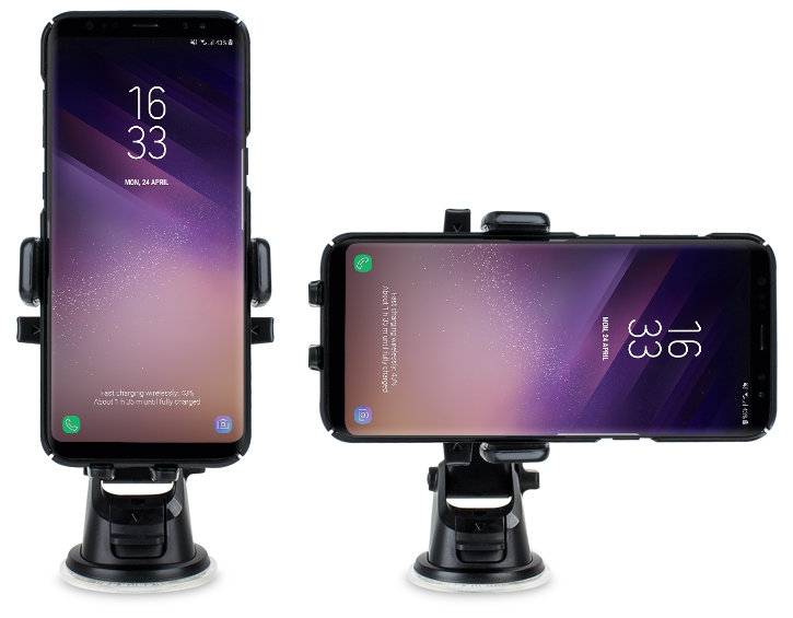 iOttie Easy One Touch Android Car Holder & Qi Wireless Charger