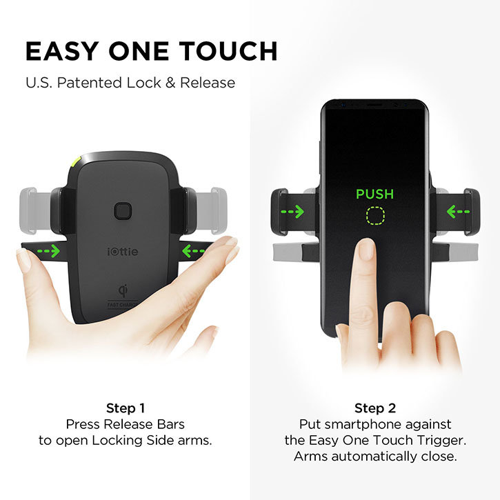 iOttie OneTouch iPhone X / 8 Plus / 8 Car Holder & Qi Wireless Charger