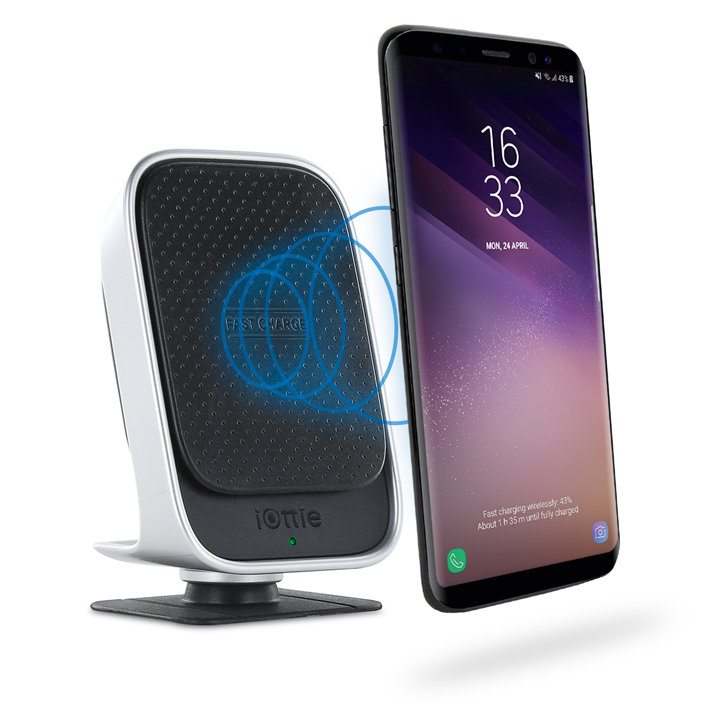 iOttie iTap Android Magnetic Car Mount & Wireless Qi Fast Charger