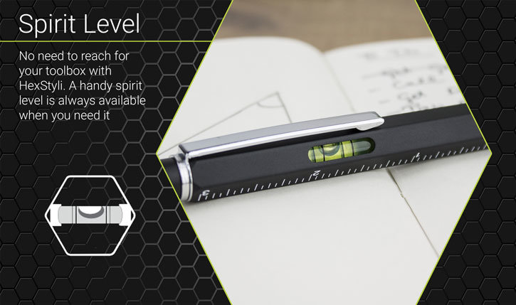Olixar HexStyli 6-in-1 Stylus Pen - Black