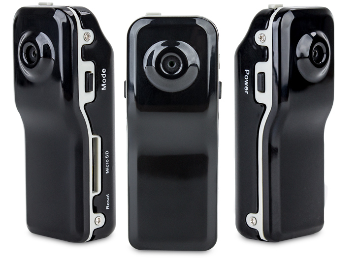 Object Micro DV Action Camera - Black