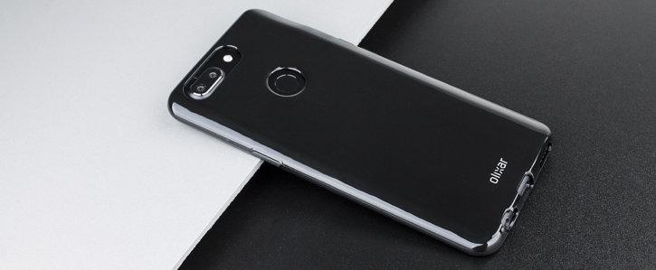 Olixar FlexiShield OnePlus 5T Case - Solid Black
