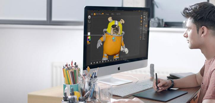 Wacom Intuos Pressure-Sensitive 3D Pen & Graphics Tablet Combo