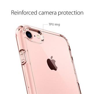 Spigen Ultra Hybrid iPhone 7/8 Case - Rose Crystal