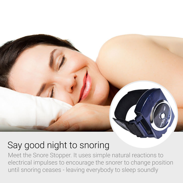 Snore Stopper Biotechnology Wristband Sleeping Aid