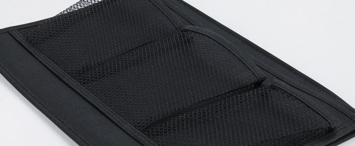 Pochette rangement chevet – 4 poches - Noir
