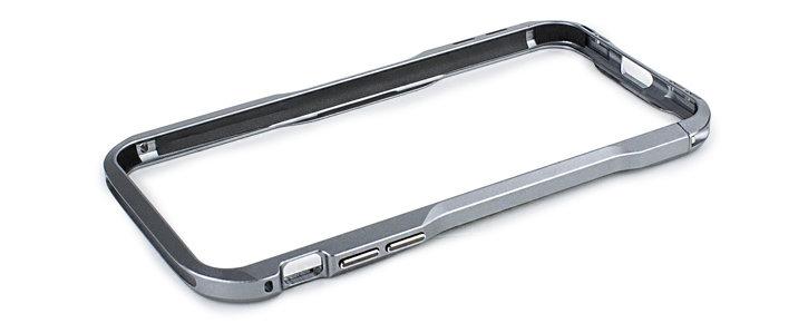 big sale e78cf 7a431 Luphie Incisive iPhone X Aluminum Metal Bumper Frame Case - Space Grey