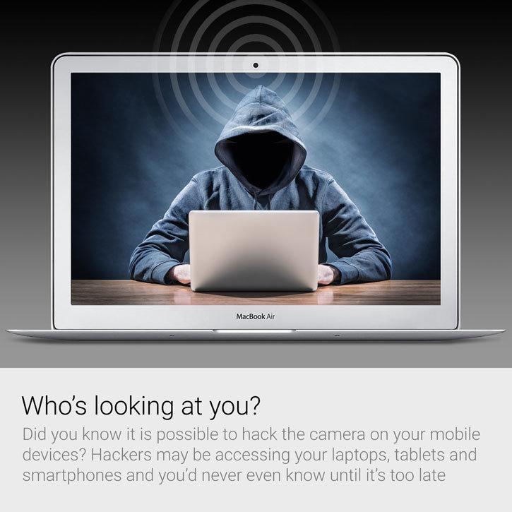 Cubre Lente Anti Espías Olixar para Smartphones, Portátiles y Tablets