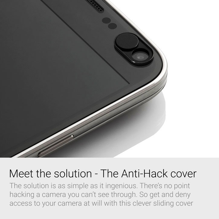 Olixar Anti-Hack Webcam Cover for Smartphones Laptops and Tablets