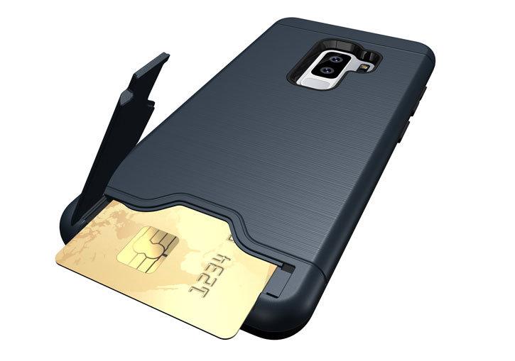 Olixar X-Ranger Samsung Galaxy S9 Plus Survival Case - Marine Blue