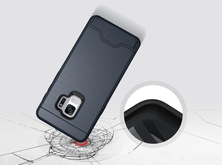 Olixar X-Ranger Samsung Galaxy S9 Survival Case - Marine Blue
