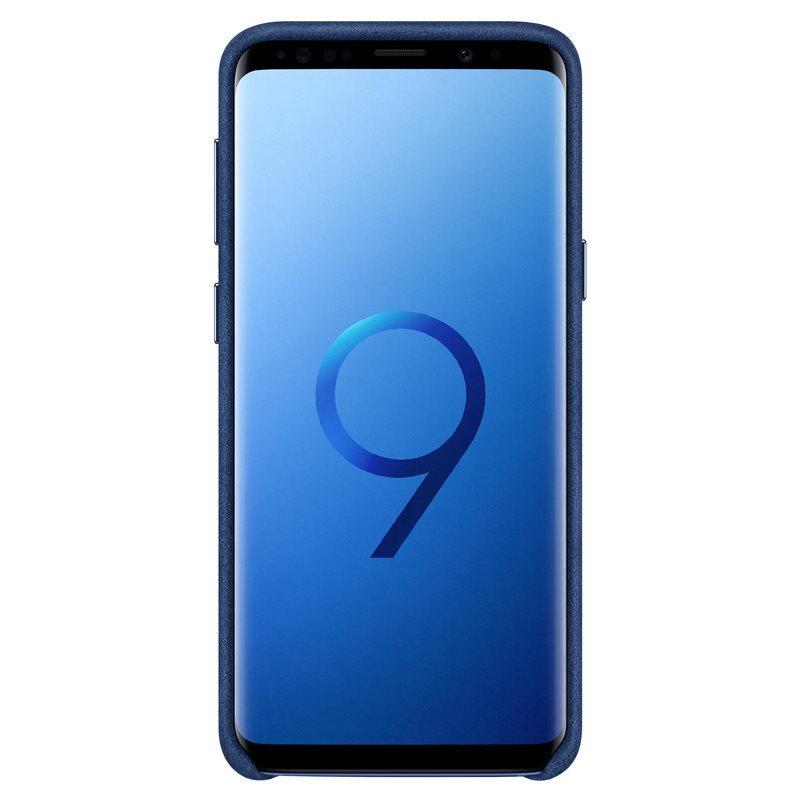 Official Samsung Galaxy S9 Alcantara Cover Case - Blue