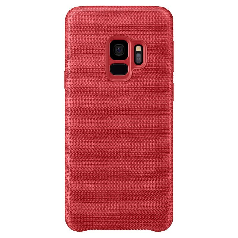 Official Samsung Galaxy S9 Hyperknit Cover Case - Red