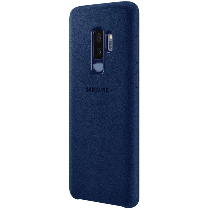 Coque Officielle Samsung Galaxy S9 Plus Alcantara Cover – Bleue