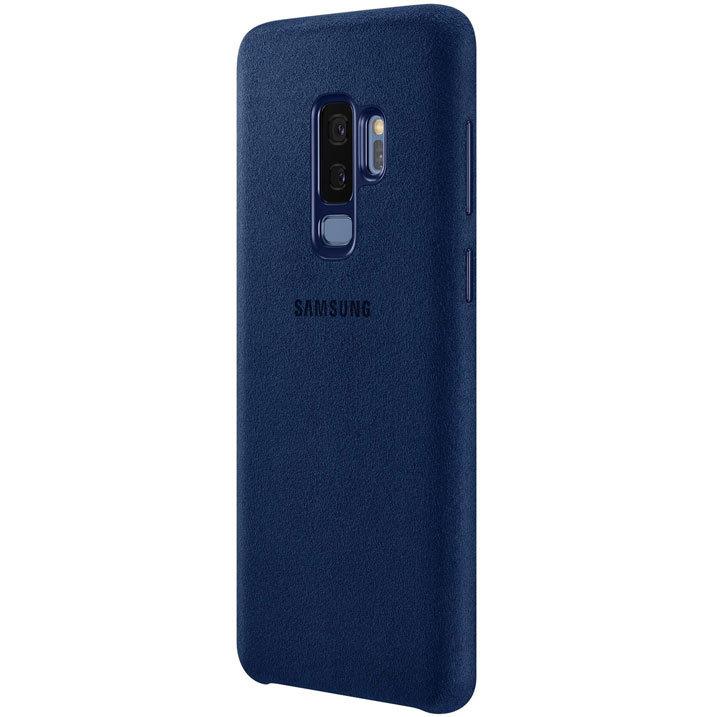 Coque Officielle Samsung Galaxy S9 Plus Alcantara Cover – Bleue