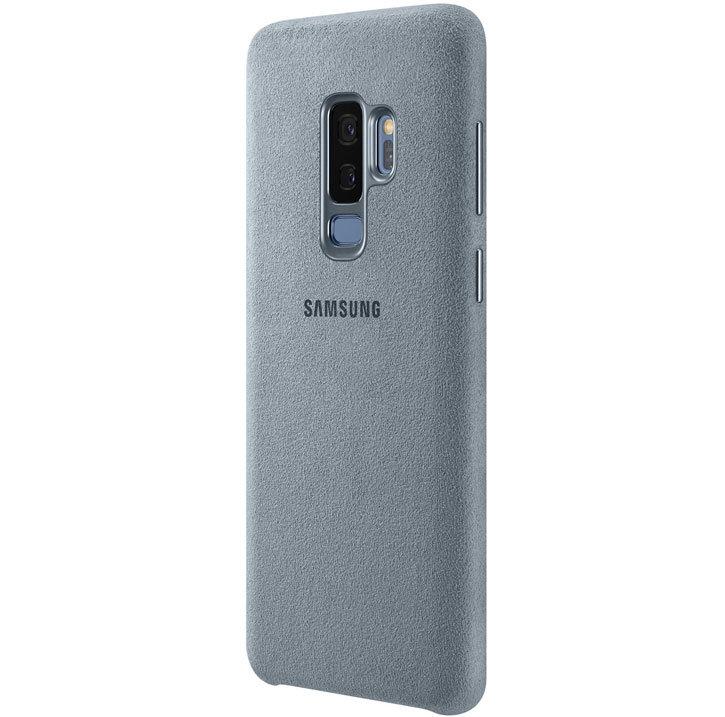 Official Samsung Galaxy S9 Plus Alcantara Cover Case - Mint