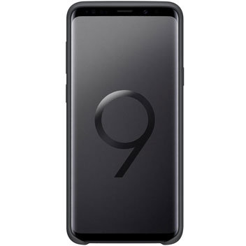 Official Samsung Galaxy S9 Plus Silicone Cover Case - Black