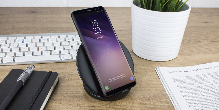 official samsung s9 s9 plus fast wireless charging pad. Black Bedroom Furniture Sets. Home Design Ideas
