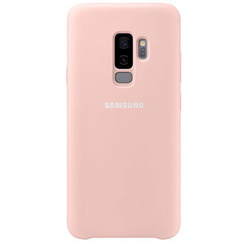 Official Samsung Galaxy S9 Plus Silicone Cover Case - Pink
