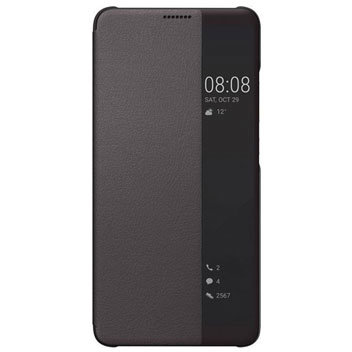 Official Huawei Mate 10 Pro Smart View Flip Case - Grey