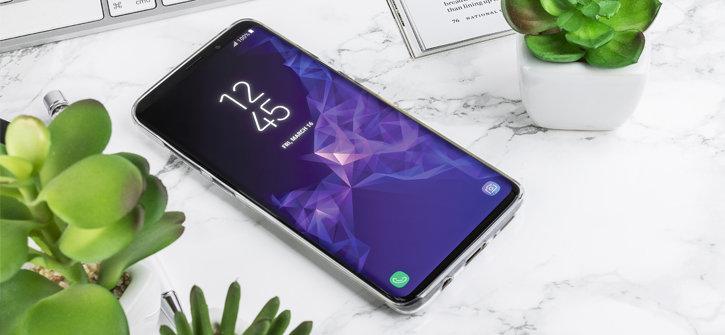 Olixar FlexiShield Diamond Samsung Galaxy S9 Plus Gel Case - Clear