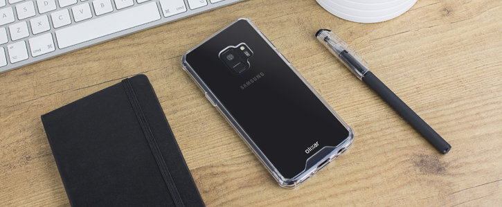 Olixar ExoShield Tough Snap-on Samsung Galaxy S9 Case - Clear