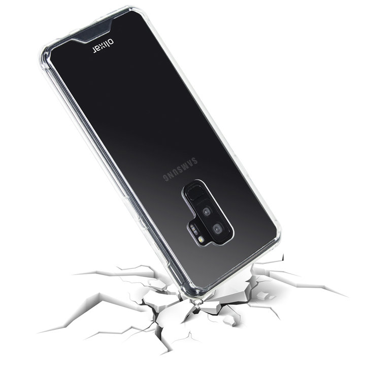 olixar exoshield tough snap on samsung galaxy s9 plus case