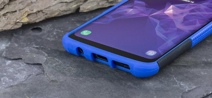 Olixar ArmourDillo Samsung Galaxy S9 Protective Case - Blue