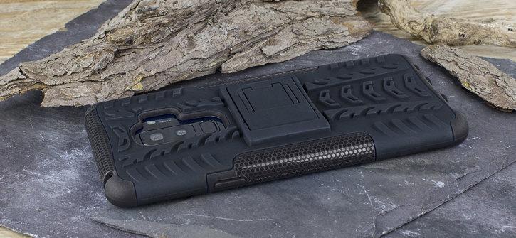 Olixar ArmourDillo Samsung Galaxy S9 Plus Protective Case - Black