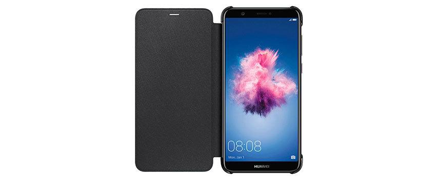 Official Huawei P Smart Flip Case - Black