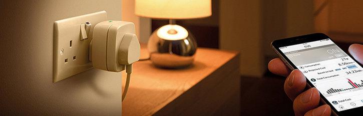 Elgato Eve Energy Wireless Power Sensor And Switch - UK Mains Plug