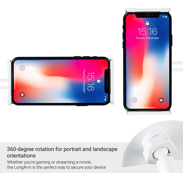 Support universel pour tablette et smartphone Olixar LongArm Premium