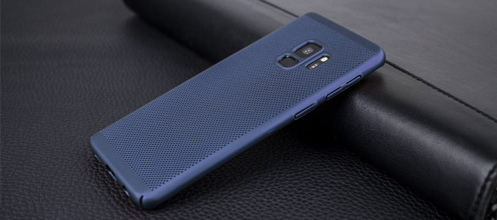 Olixar MeshTex Samsung Galaxy S9 Case - Marine Blue