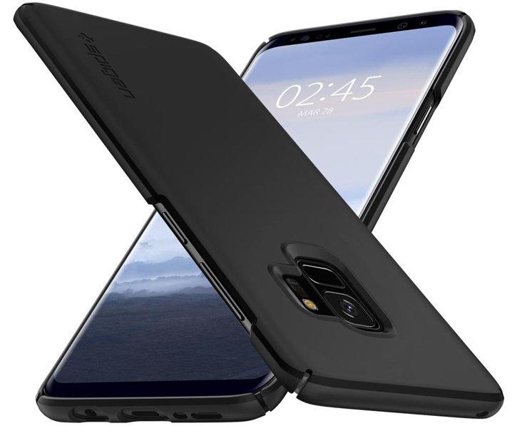 Spigen Thin Fit Samsung Galaxy S9 Case - Black