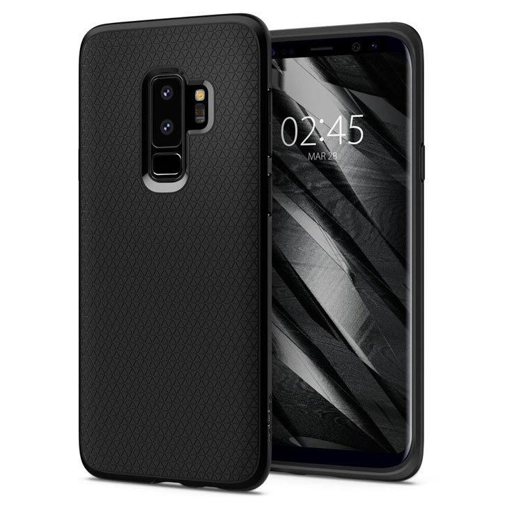 Spigen Liquid Air Samsung Galaxy S9 Plus Case - Matte Black