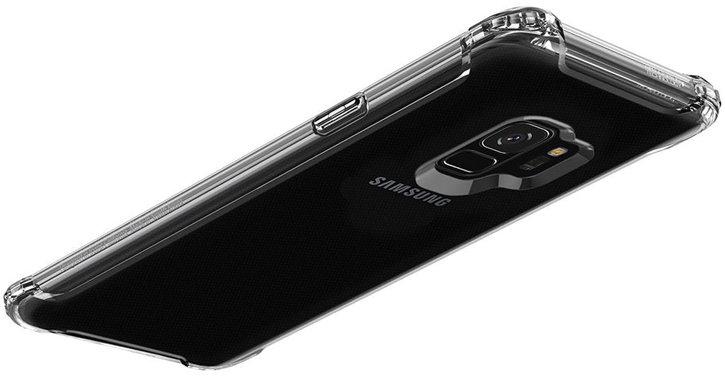 Spigen Rugged Armor Samsung Galaxy S9 Tough Case - Crystal Clear