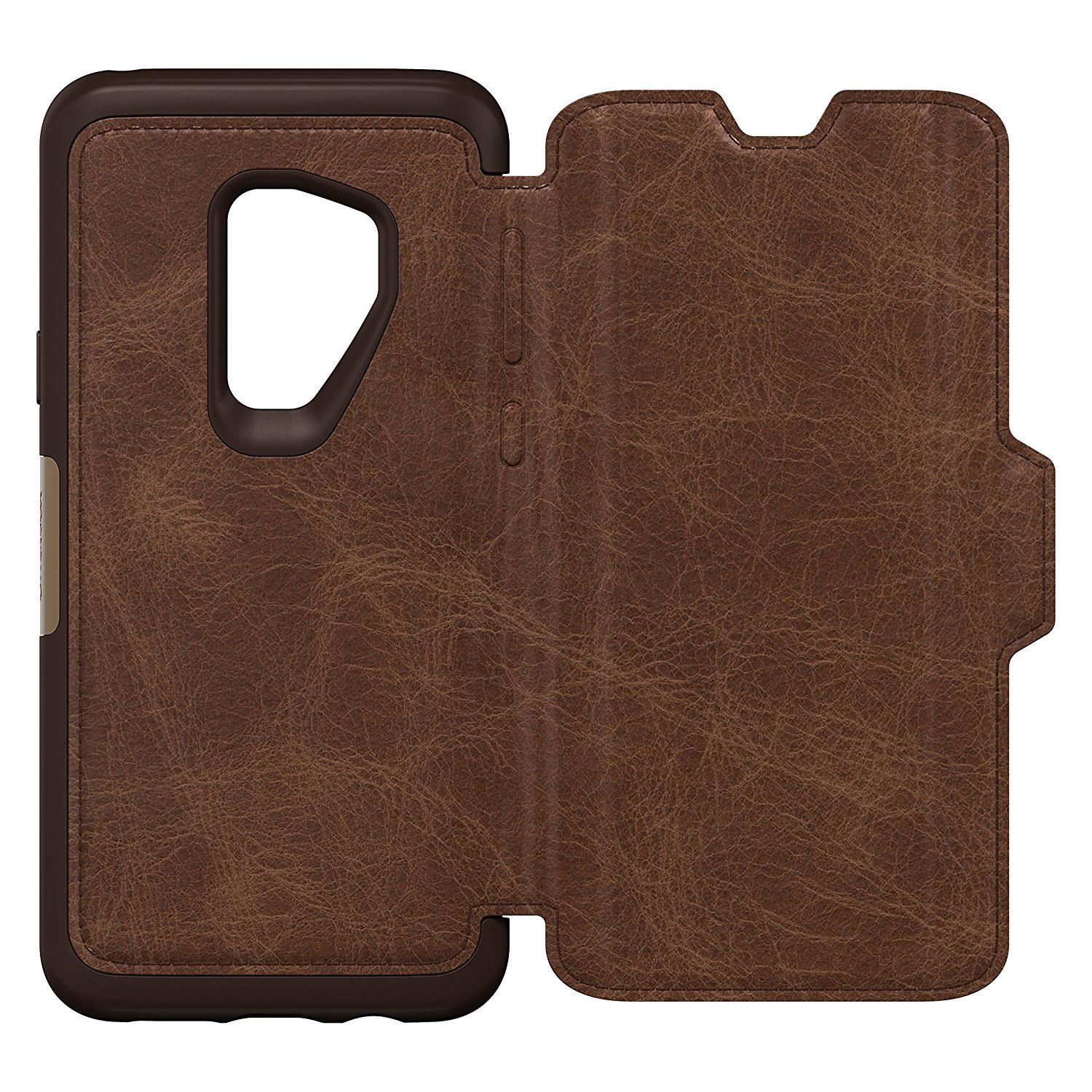 outlet store beb39 4285f OtterBox Strada Samsung Galaxy S9 Plus Case - Brown