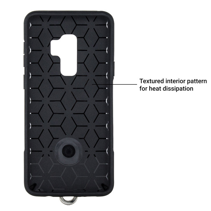 Olixar LanYard Samsung Galaxy S9 Protective Case - Black