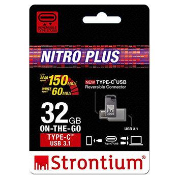 Strontium Nitro Plus USB Type-C Flash Drive - 32 GB