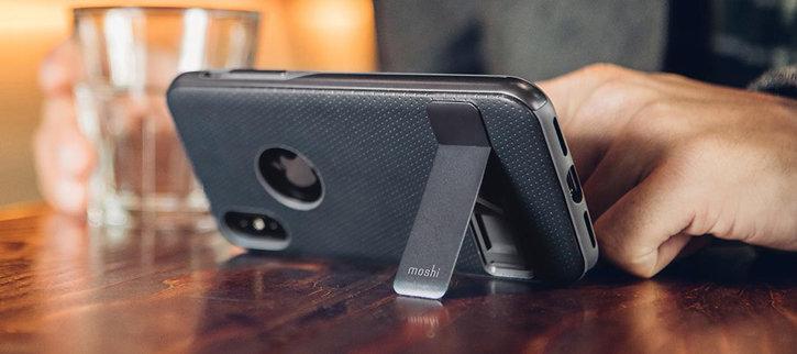 Moshi Kameleon iPhone X Kickstand Case - Midnight Blue