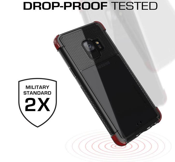 Ghostek Covert 2 Samsung Galaxy S9 Case - Red