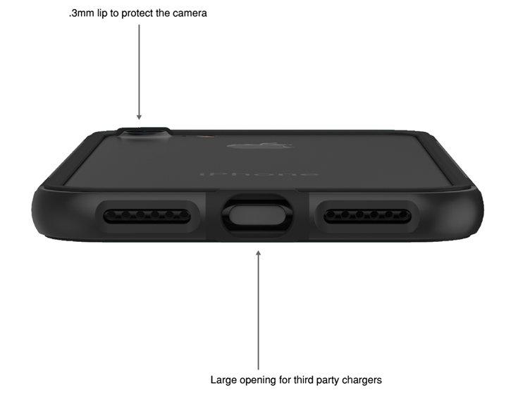 Ghostek Cloak 3 Samsung Galaxy S9 Tough Case - Clear / Black
