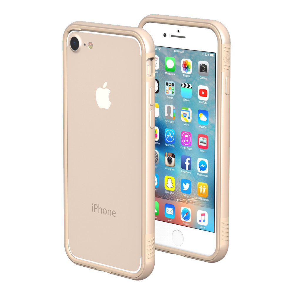 iphone 7 gold thanotech k11 iphone 8 7 aluminium bumper gold 11531
