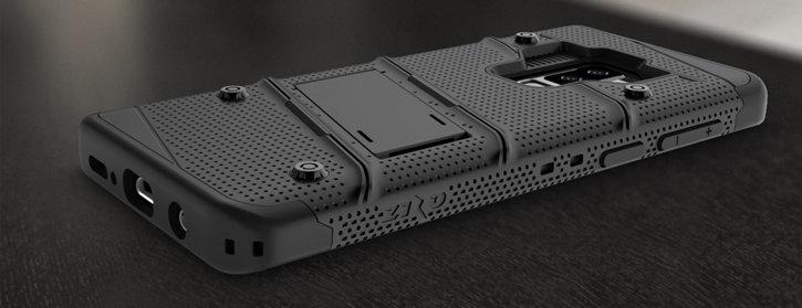 Zizo Bolt Series Samsung Galaxy S8 Tough Case & Belt Clip - Red