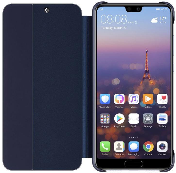 Official Huawei P20 Smart View Flip Case - Blue