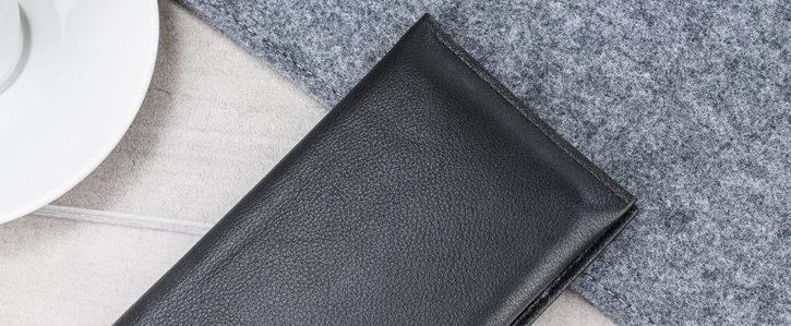 Housse Oppo F5 Olixar Primo pochette portefeuille – Noire